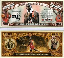 Michael Jordan - Chicago Bulls Million Dollar Novelty Money