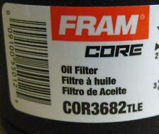 1 Dozen Fram Core Oil filters COR3682TLE (3682) Box of 12 Filters NEW