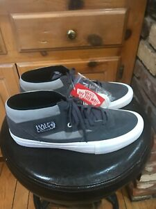 MENS NEW VANS HALF CAB PRO. PERISCOPE DRIZZLE. SIZE 11. LIMITED EDITION COLOR