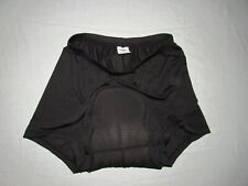 """Huhu Women's Black Cycling Padded Mini Shorts Size M Waist 27""""-29"""""""