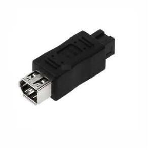 Firewire 9-pin Male to 6-pin IEEE-1394 FireWire Female Adapter   30E4-03200