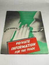 VINTAGE AUTOMOBILIA Trade Information Sheet Castrol CASTROLITE OIL 1950s