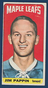 JIM PAPPIN 64-65 TOPPS TALLBOYS 1964-65 NO 64 EX  10222