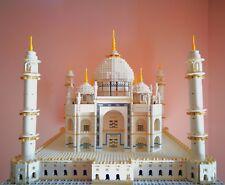 Lego 10189 set Taj Mahal rare no box no istruzioni come nuovo Originale Perfetto