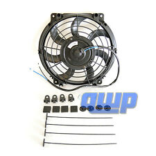 "10"" Inch Universal Slim Fan Kit For Radiator Cooling Push or Pull Hayden 3670"