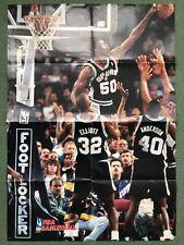 More details for david maurice robinson fiba basketball poster san antonio spurs nba