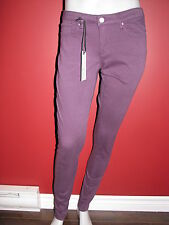 CHIP & PEPPER Women's Purple West TY Syd Skinny Jeans - Size 27 - NWT