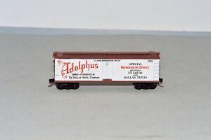 N Scale Kadee Micro-Trains Special Run Adolphus 40' Wood Reefer Car (B)