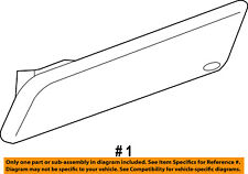 FORD OEM 10-13 Transit Connect-Side Marker Light Lamp FRONT Right 9T1Z15A201C