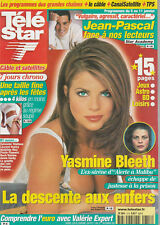 Télé Star N°1318 - 31/12/2001 - Yasmine Bleeth - Mathilda May - Roch Voisine