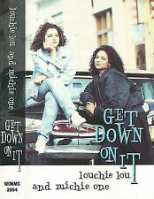 Louchie Lou & Michie One ‎ Get Down On It CASSETTE SINGLE 2TRKS House Reggae Pop