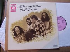 MAMAS&THE PAPAS,PEOPLE LIKE US lp m-/vg+ hör zu/probe rec. SHZE336 Germany´71