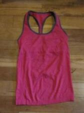 LULULEMON ebb and flow tank in heathered bumble berry size 6