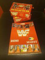 WWF World wrestling federation 1x box stickers and empty album -Merlin edt. 1992