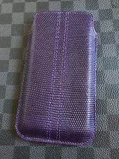 "Genuine Vertu Grape Lizard Case for Signature Touch 4.7"" or Vertu Aster RARE"