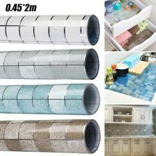 Kitchen Waterproof Anti-Oil Mosaic Tiles Decor Wall Stickers Self-adhesive Decal