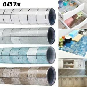 Mosaics Contact Paper Self Adhesive Peel&Stick Tile Sticker Kitchen Countertop A
