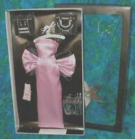Marilyn Madonna Pink Satin Diamonds Dress NRFB jewelry Gentlemen Prefer Blondes