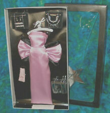 Marilyn Madonna Pink Satin Diamonds Dress NRFB jewelry Gentlemen Prefer Blondes