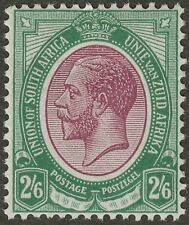 South Africa 1913 KGV 2sh6d Purple and Green Mint SG14 cat £55