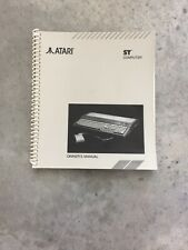 Vintage 1986 Atari St Computer Owners Manual In Excellent Shape