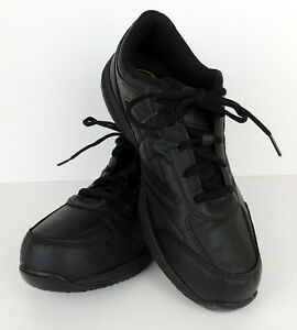 Tredsafe Women 11 Black Safe Sneakers Work Oil & Slip Resistant Anti Fatigue