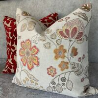 "John Lewis Sayuri Magnolia Floral Cushion Pillow Cover 18/""//Style Contemporain"