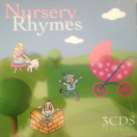 NURSERY RHYMES 3CD BRAND NEW 79 Tracks ABC For Kids