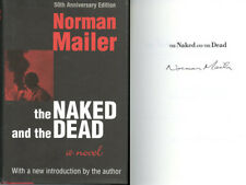 Norman Mailer SIGNED AUTOGRAPHED The Naked And The Dead HC Brand New