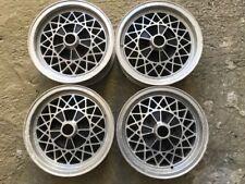 BMW E3 E9 2500 2800 3000 E12 518 520 528 4 CERCHI BWA WHEELS 14x5,5 OLD STOCK