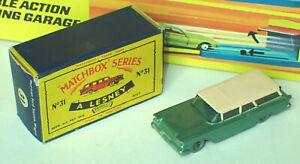 Matchbox 31b American Ford Station Wagon Very Near Mint in Near Mint Box