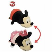 """Flip a Zoo 15"""" Disney Minnie and Mickey Mouse Plush Toy New Orig Package"""