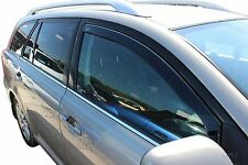 TOYOTA AVENSIS mk2  2003-2009  Front wind deflectors 2pc TINTED HEKO