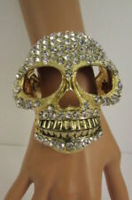 Mixed Metals Rhinestone Fashion Bracelets