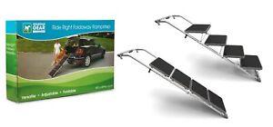 Pet Ramp Steps Foldaway Convertible Adjustable Helps Senior Pets into Vehicles