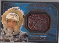 Topps Star Wars Masterwork Bronze Medallion Han Solo Battle of Hoth