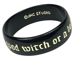 JKC Bangle Bracelet Jessica Kagan Cushman Are You A Good Witch Or A Bad Witch ?