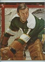 Vintage NHL Hockey Program 1972 Philadelphia Flyers Minnesota North Stars