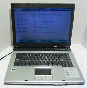 Acer Aspire 3004WLCi 15.4'' Notebook (AMD Sempron 3100+ 1.8GHz) NO HDD