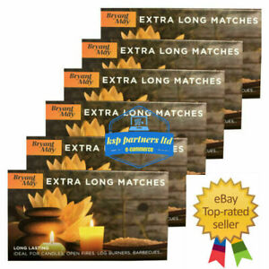 Bryant & May Extra Long Safety Matches Ideal For Fires BBQs SELECT QUANTITY