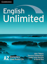 English Unlimited Elementary Class Audio CDs (3), Rea, David, Hendra, Leslie Ann