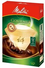 Melitta Coffee Filter Paper 1x4 Gourmet 4-8 Cups 80 Sheets from Japan