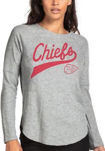 Junk Food Womens NFL Kansas City Chiefs Super Soft Thermal Shirt New