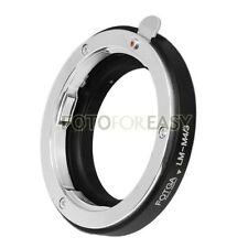FOTGA Leica M lens to Micro 4/3 m4/3 EP-1 GF1 G1 GH1 G5 GF6 EP5 EM5 EPL7 Adapter