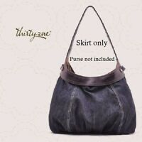NEW City SKIRT ONLY thirty one Hobo Handbag denim for 31 tote gift new