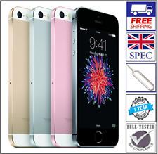 Apple iPhone SE 16GB 32GB 64GB 128GB Colours Sim Unlocked Smartphone UK Graded