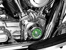 Harley FLSTS Heritage Springer 2000-2003Tappet Block Accent Chrome by Kuryakyn