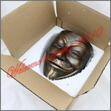 """Resin""""V For Vendetta"""" Movie New Mask Guy Fawkes Anonymous Halloween Cosplay"""