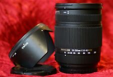 Sigma 18-250mm HSM OS Auto Focus DC Zoom Lens - For Sony Alpha A230 A300 A500