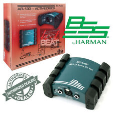 BSS AR133 Premium Active Direct Box Line Balancer for Keyboards Guitars Console